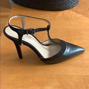 BCBGeneration Decorah leather T-strap heels 6B